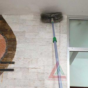 Chổi quét trần nhà cán dài 3m
