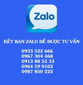 lien lac ZALO