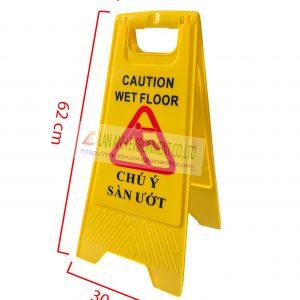Biến báo sàn ướt chữ A