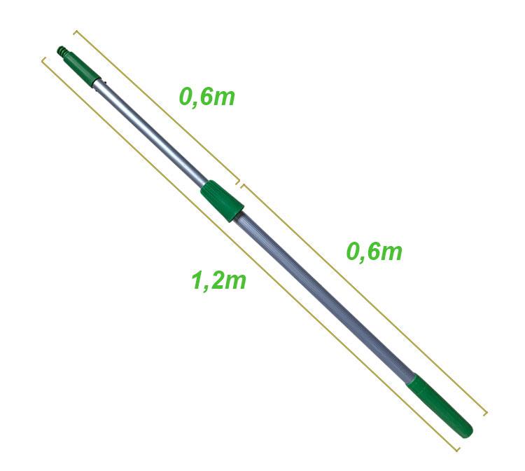 cán nối dài màu xanh 1,2m